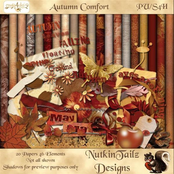 Autumn Comfort [NutkinTailz Designs] - AU$3.00 : Nuts4Digi.com Store