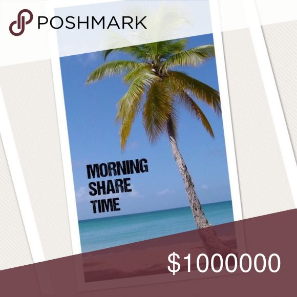 🌴🌴6/26 MON SIGN UP🌴🌴 Sign up is posted!!  4 shares. No worries. Easy breezy. Like this listing to be notified when the sign up is ready.   🌴Sharing starts at 5am  🌴Sign up closes at 2pm est  🌴Posh compliant closets only. If you're not compliant you risk not being shared 🌴Please complete shares by midnight your time 🌴Ask any and all questions in this listing  HAPPY POSHING!! Other