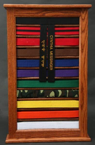 Martial Arts Belt Display Martial Arts Belt Display Help Woodworking Talk