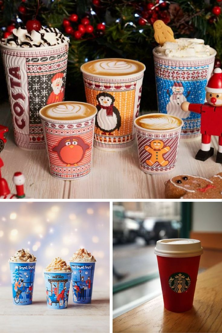 It's the most wonderful time of the year…  …It's when the Christmas coffee drinks comes out! Here's a roundup of all the Christmas drinks from your favourite coffee chains.