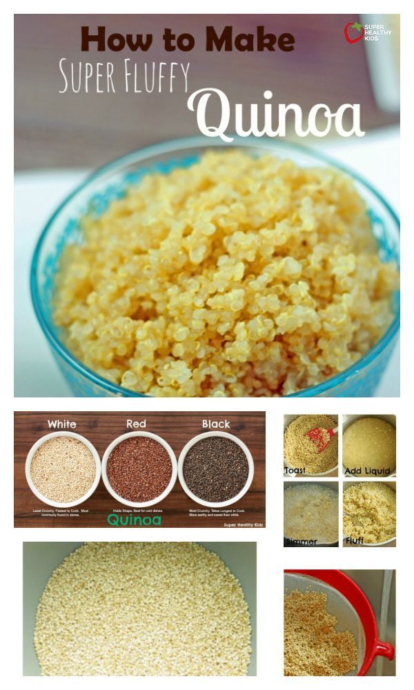 How to Cook Super Fluffy Quinoa - Make the perfect quinoa with these simple tips! http://www.superhealthykids.com/how-to-cook-super-fluffy-quinoa/