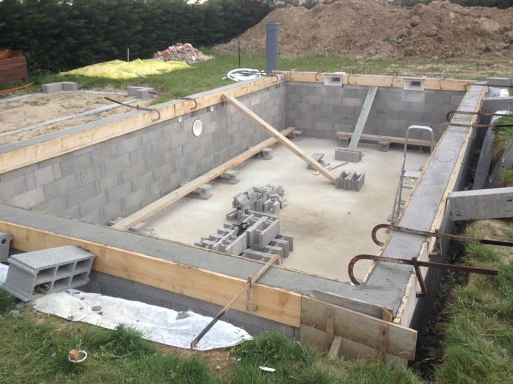 Piscines spas piscine 8 5 x 4 x auto construction for Construction piscine forum