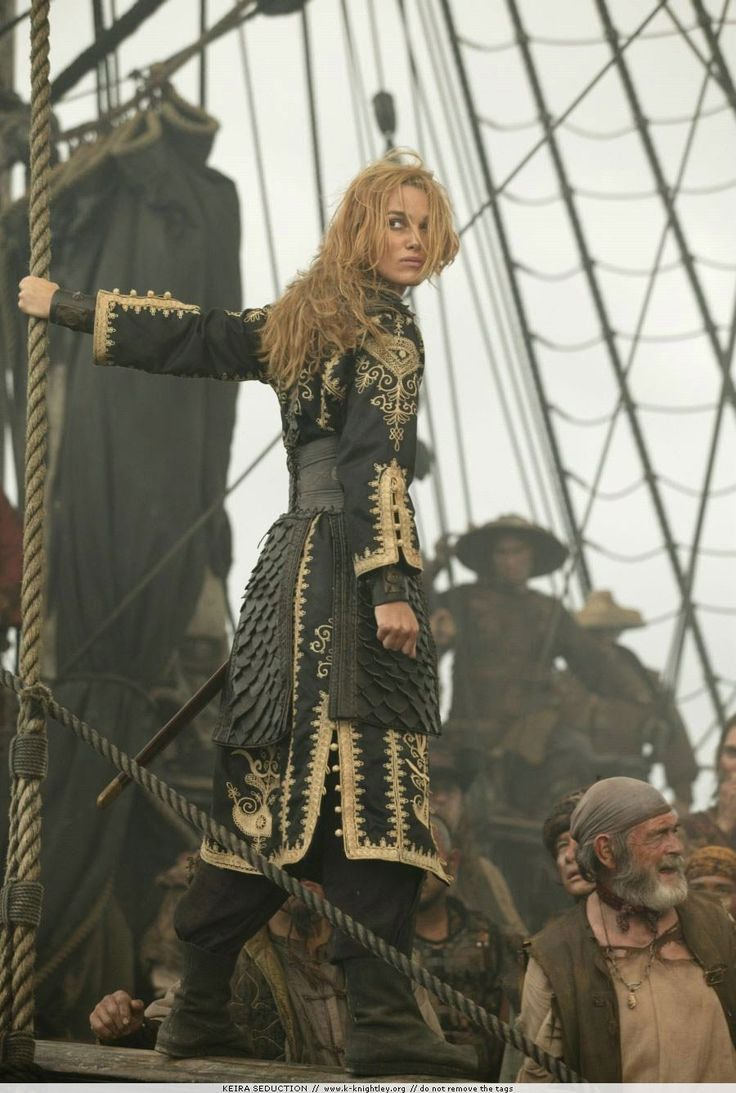 "Elizabeth Swann, Pirate Queen ""Pirates of the Caribbean : At World's End"""