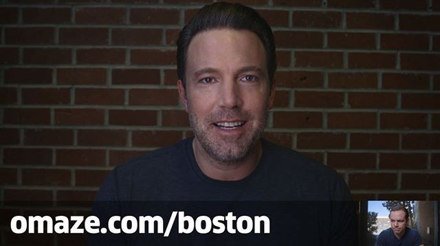 Want to hang out with Tom Brady and me? And...I guess Matt can be there too. We'll grab some pizza and beers for a good cause! Head to omaze.com/boston or click the link in my bio.