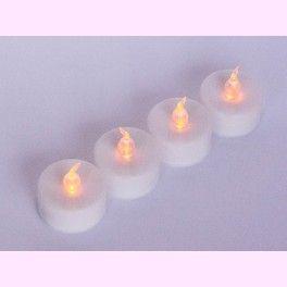 Vela Decorativa LED para la decoracion de tu boda. Sin llama, sin cera y sin humo. PVP: 1,31 €