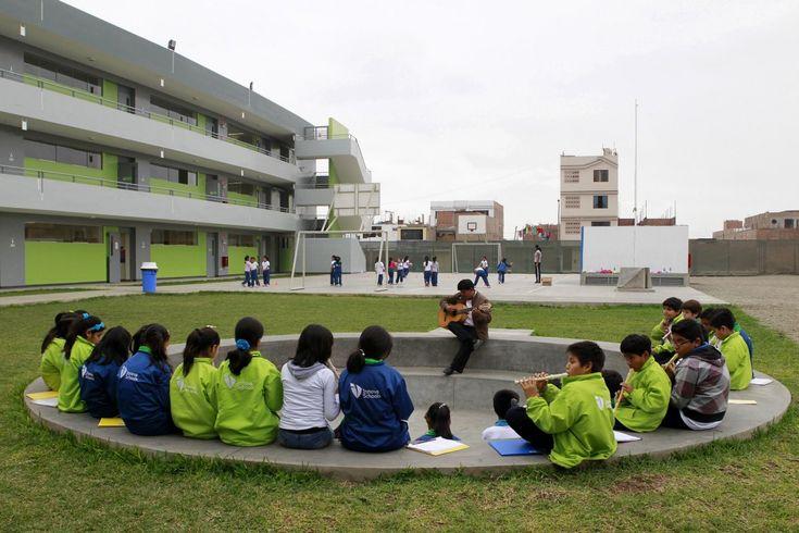 Escuelas Innova.  Perú.  La escuela construida por diseñadores de talla mundial.