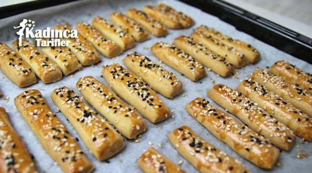 Margarinsiz Tuzlu Kurabiye Tarifi | Kadınca Tarifler | Kolay ve Nefis Yemek Tarifleri Sitesi - Oktay Usta