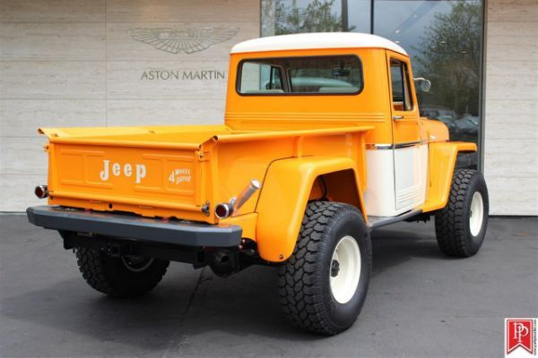 1962 Willys Jeep Pickup Jeep Jeep Willys Camioneta Jeep Camionetas