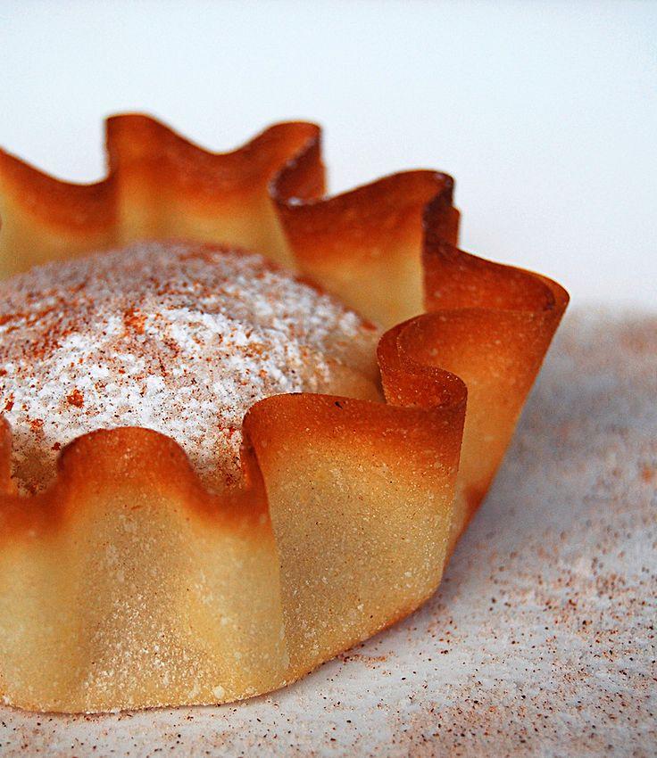 Pastel de Santa Clara Ingredientes Massa 4 xíc. de farinha de trigo peneirada 1 xíc. de água 1/2 colh. (chá) de s...