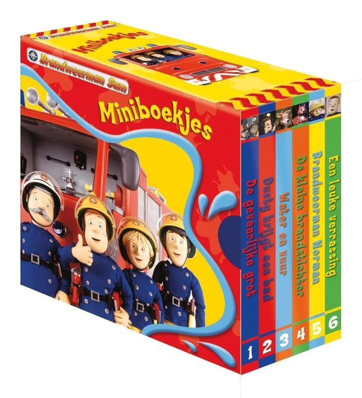 Brandweerman Sam uitdeelboekje (per setje 6 boekjes)
