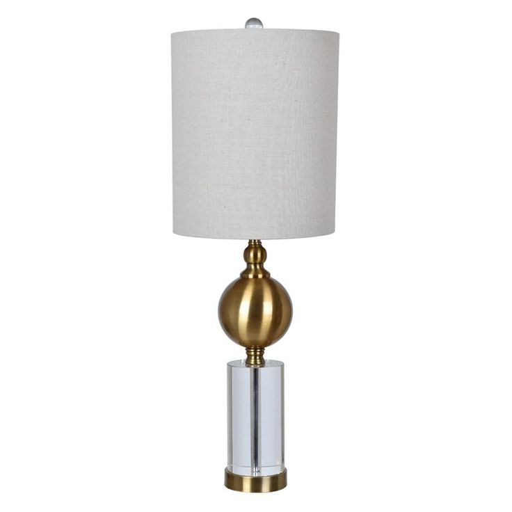 Crestview Collection CVABS1235 Dupuis Table Lamp - Set of 2 - CVABS1235, Durable
