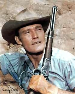 Chuck Connors - The Rifleman LA flight.....walked to baggage claim with me