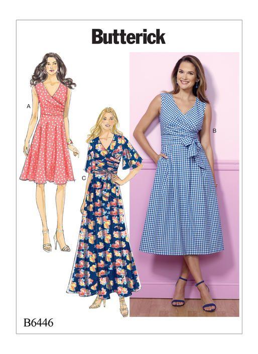 Pattern Review: Butterick 6446 Dress – Gorgeous Fabrics' Blog