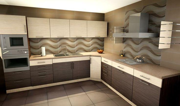 Wizualizacja kuchni wykonana w programie Palette CAD. http://www.palettecad.pl