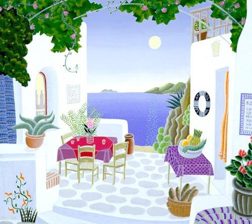 Thomas McKnight   Aegean Tavern