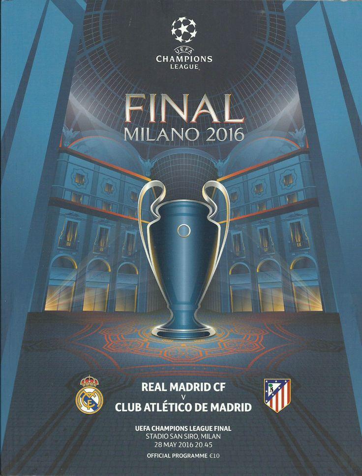 2016 Real Madrid v Atletico Madrid