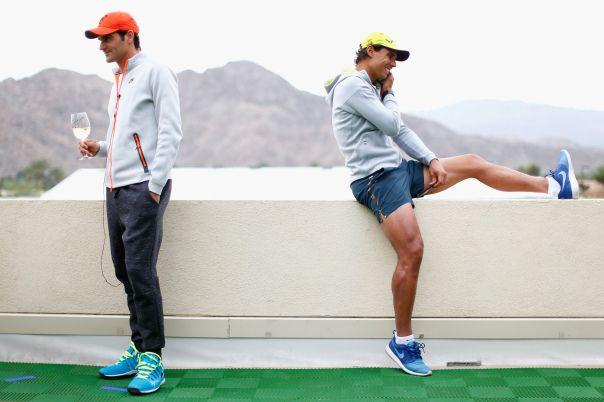 Roger Federer & Rafa Nadal