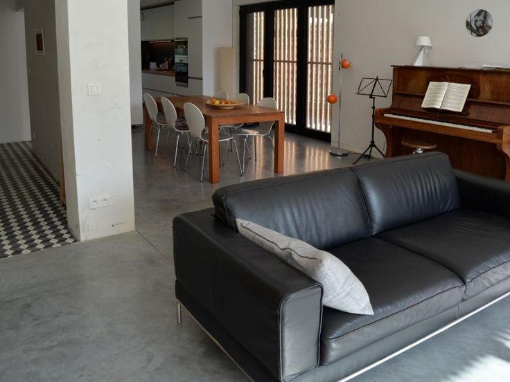 17 best images about interieur inrichting on pinterest vinyls construction and bergen - Moderne woonkamer eetkamer ...