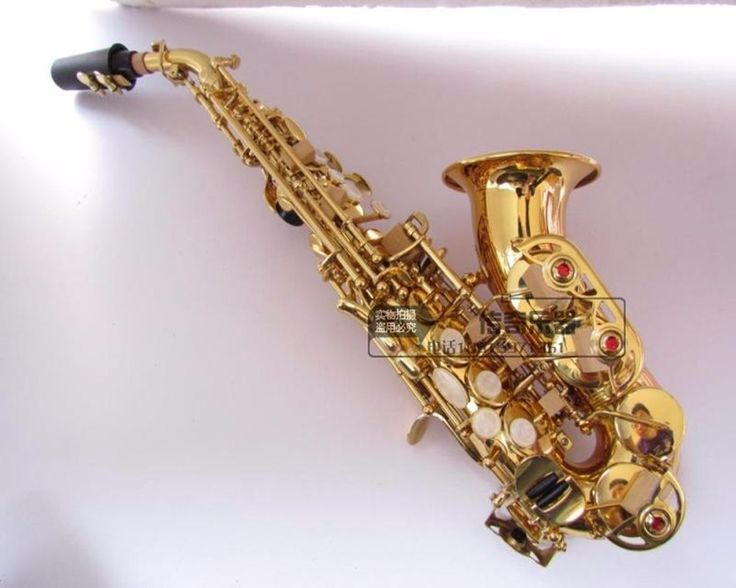 Top selmer 54 B flat sax small Saxophone Soprano curved Sax adult children wind musical instruments free delivery #Affiliate