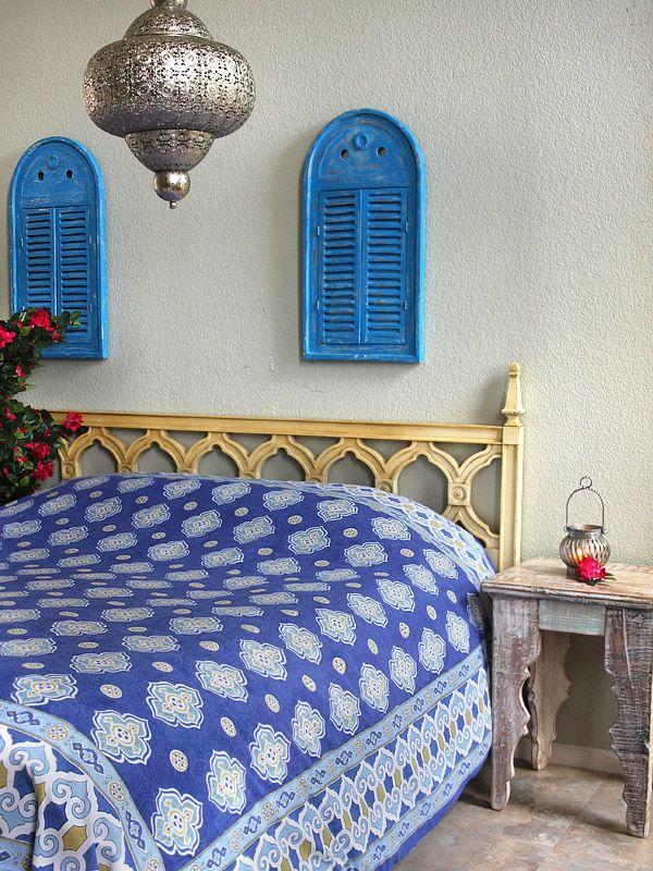 Best 25+ Blue bedspread ideas on Pinterest | Indian ...