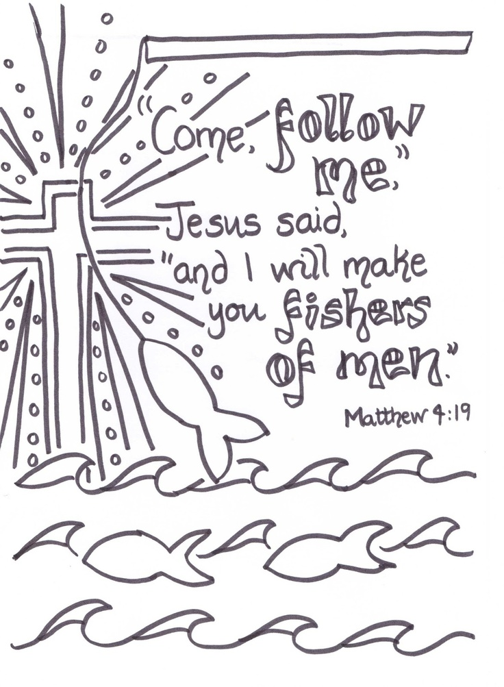 25 Best Ideas About Matthew 4 19 On Pinterest
