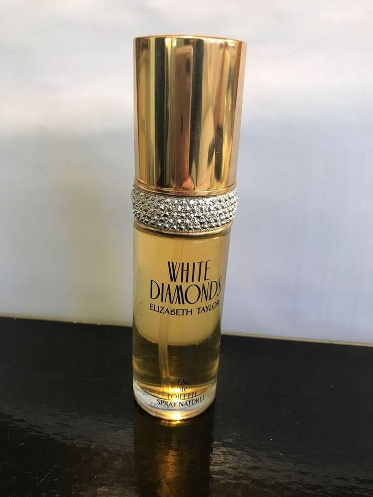 Elizabeth Taylor White Diamonds Gold Top Perfume Full Bottle Pre-owned 1oz NEW    eBay