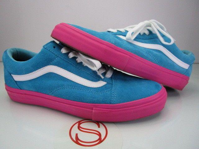 Vans Old Skool Pro Golf Blue Pink 10 5 Vans Pink Vans Pink Vans Old Skool