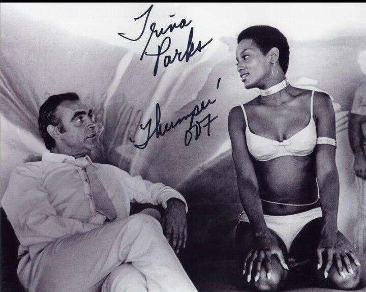1st African American Bond girl,  Trina parks.