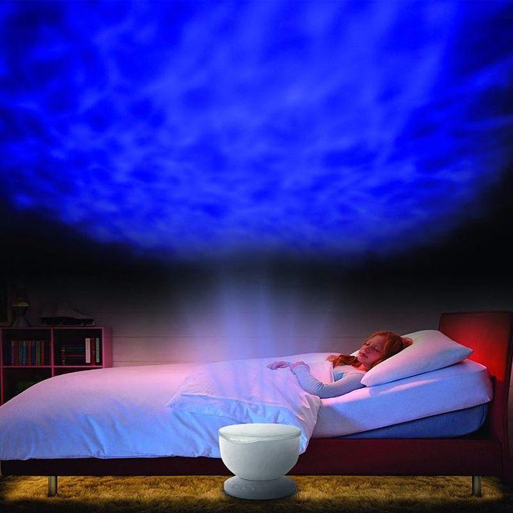 Rainbow Wave Projector Lamp & Speakers Daren Waves Led nightlight MINI-Wave Aurora Master Night light Lap Speakers IN STOCK
