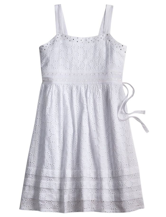 Justice Clothes for Girls Outlet   Girls Clothing   Dresses   White Eyelet Dress   Shop Justice   wedding