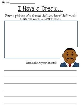 """You will currently find aFree Martin Luther King Jr. Day Worksheet Packet on Teachers Pay Teachers   Site Product Description:  """"Martin Luthe"""