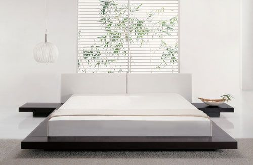 japanese+bamboo+bed | Renovation On A Shoestring For Worker Ants: Japanese Platform Bed