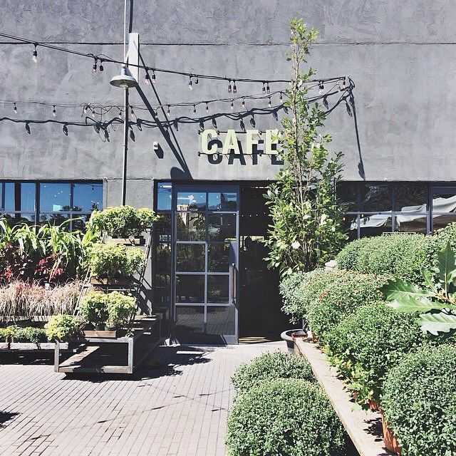 Late afternoon at our Westport, Connecticut Terrain Garden Cafe, photo via Instagram JodiWhatsCookin.
