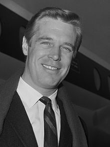 George Peppard Born George Peppard, Jr. October 1, 1928 Michigan, U.S. Died	May 8, 1994 (aged 65) California, U.S. Cause of death Pneumonia Occupation Actor Years active	1951–1994 Spouse(s): Helen Davies (1954–64); Elizabeth Ashley (1966–72); Sherry Boucher (1975–79); Alexis Adams (1984–86); Laura Taylor (1992–94, his death) Children 3