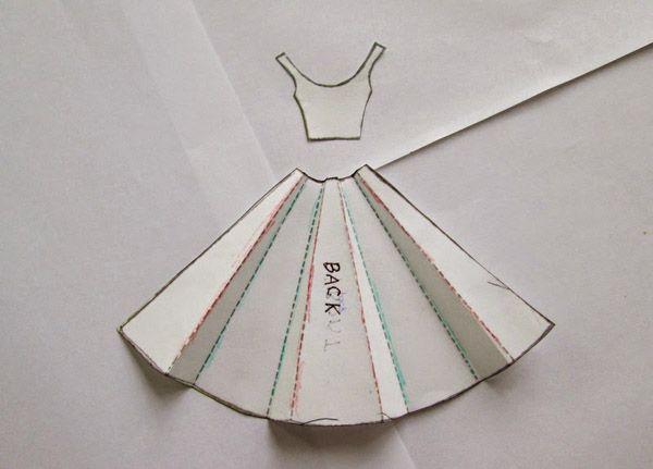 Годом, шаблон открытки платье на 8 марта