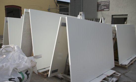 uhpc panels for vestibule entrance by szolyd.com