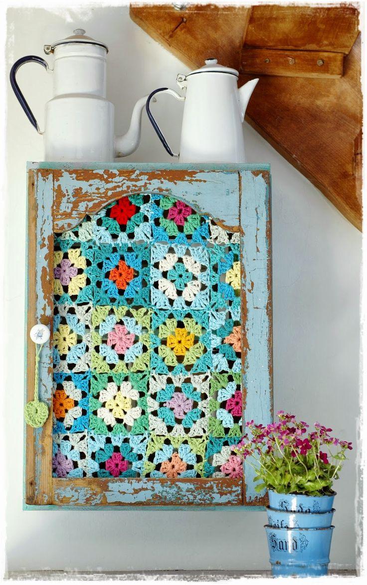 Love this idea! niebieska chata: w turkusowym kolorze......