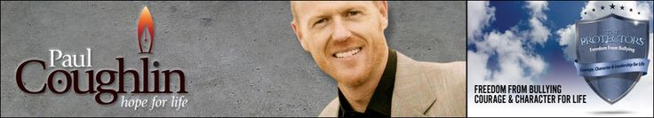 Paul Coughlin - author, speaker, founder of the protectors anti-bullying solution