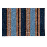 Madras Link Classic Stripe Doormat