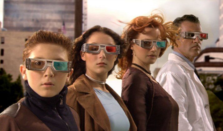 Spy Kids 3D - 2003 - My dad and I watched this, while my sister and mum went and watched The Piglet Movie, I believe? - JR