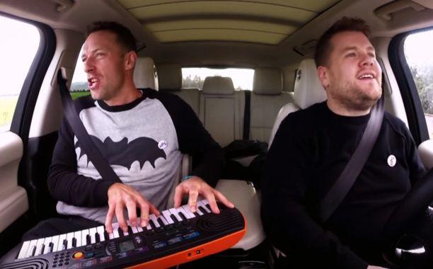 Carpool Karaoke: Chris Martin video with James Corden | EW.com