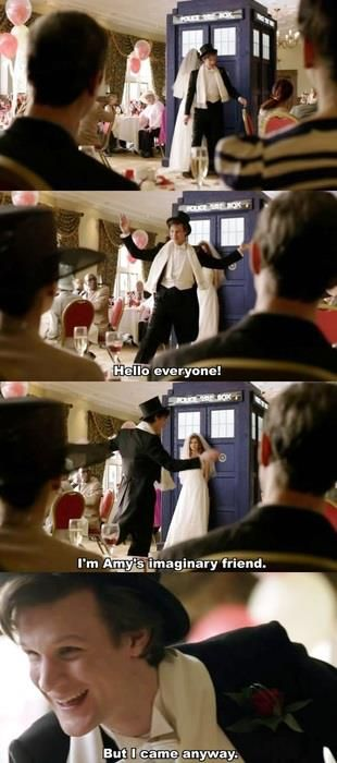 AH THIS PART TOO IT MAKES ME WANT TO CRY COS HES BACK THE RAGGEDY DOCTOR IS BACK AND NOBODY BELIEVED AMY BEFORE THIS POINT BUT HE'S GOT HER BACK JUST LIKE HE ALWAYS HAS