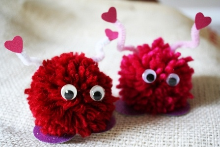 Mommy & Me Valentine Crafts - February 10th