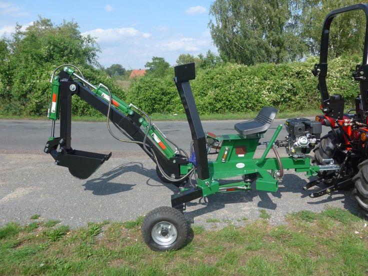 VEMAC GEO ATV Quad Bagger Anbaubagger Minibagger Schreitbagger NEU