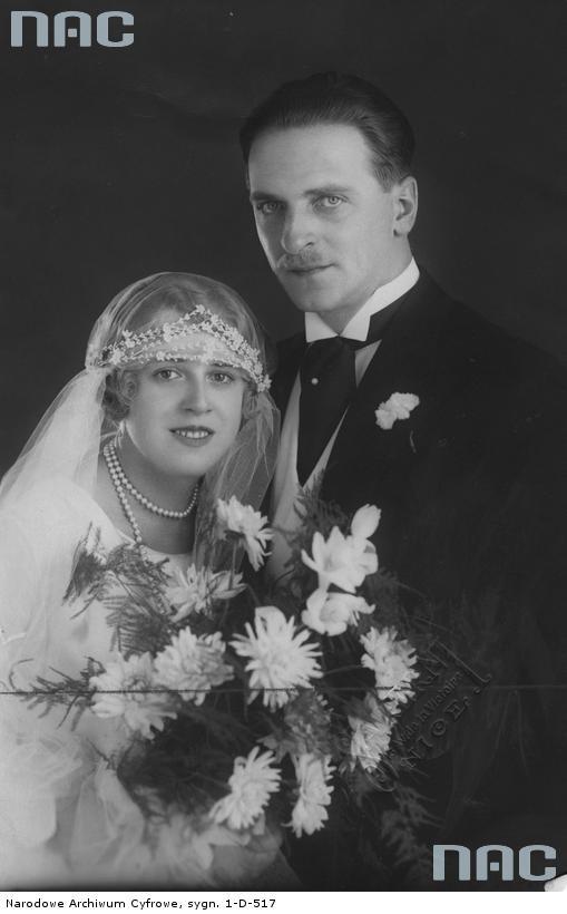 Edward Kalinowski z małżonką Marią