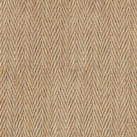 Buy Alternative Flooring Seagrass Fine Heringbone Flatweave Carpet, Natural Online at johnlewis.com