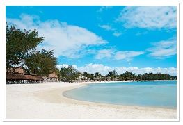 Beach at Ambre Hotel, Mauritius. To book go to www.mainlymauritius.co.uk