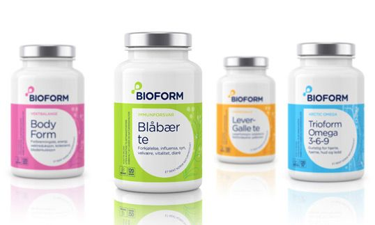 Bioform packaging :: designed by Stromme Throndsen Design, Norway