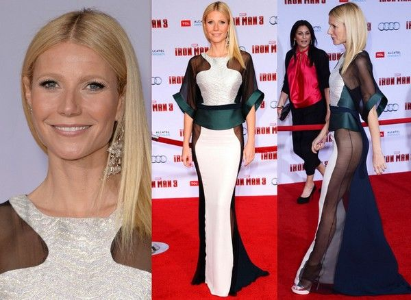 Gwyneth Paltrow Without Underwear At Iron Man 3 Premiere | Roomee Times