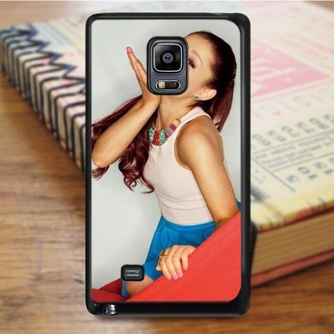 Ariana Grande Cute Kiss Samsung Galaxy Note 5 Case